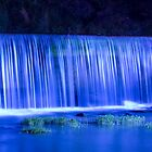 Blue Falls - Helena, Alabama by Hampton Taylor