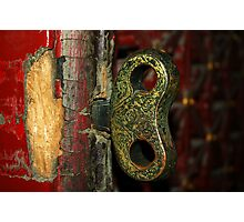 2000 year old door - China 2006  Photographic Print