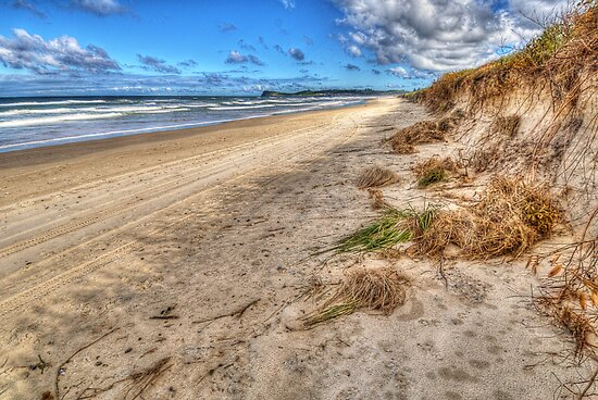 Lennox Head After A Storm by Daveylad