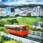 Wellington cable car by Shamus Macca