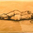 reclining nude by Forrest Harrison Gerke