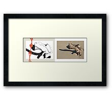 beach muse #4 Framed Print