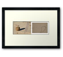 beach muse #6 Framed Print