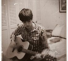 A Boy and His Guitar by jackshoegazer