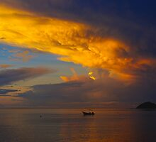 South Pacific Sunrise by Anna  Ellis