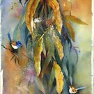 Gumleaves and Wrens  by bev langby
