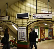 Tube Station by Chris Hayes