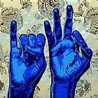 Sign09IF - Hands using American Sign Language for the word IF  by GILLERHEAD