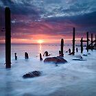 Happisburgh Dawn by Rick Bowden