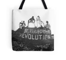 Clockwork Revolution Tote Bag