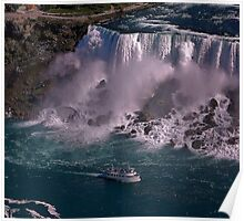 Wow, Niagara Poster