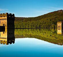 Dam Reflection by Rick Bowden