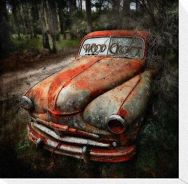 Death of a car -RIP- by Manfred Belau
