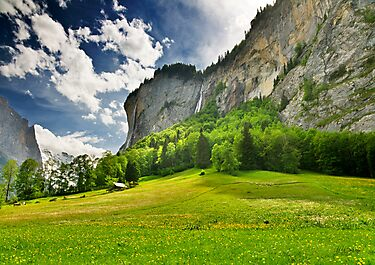 Swiss Valley by Mario Curcio