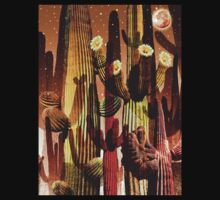 Saguaro Night by Dennis  Roy Smigel