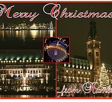 Christmas greetings from Hamburg by Dirk Pagel