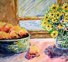 Peaches and Sun by Brett M. Hill