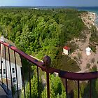 From the South Manitou Lighthouse by Robert deJonge