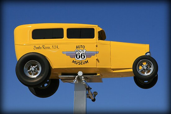 Flying High Over Route 66 by Patricia Montgomery