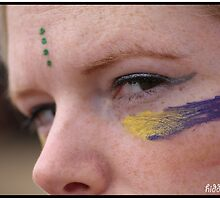 Facepaint Festival Girl by hiddenforests