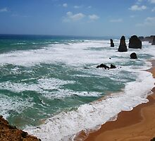 12 Apostles Port Campbell National Park Vic.Australia !!! by Heabar