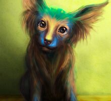 Colorful Dog by Tanya Varga (formerly Tanya Wheeler)