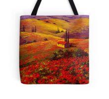 Tuscany Poppy Hills Tote Bag