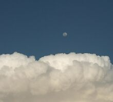 Mr Moon above the storm. by shaldema1