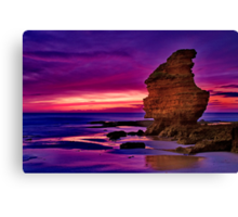 """Daybreak at Castle Rock"" Canvas Print"