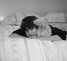 A boy and his bear by Mereki