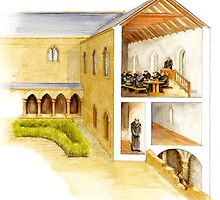 Jedburgh Refectory by Fee Dickson