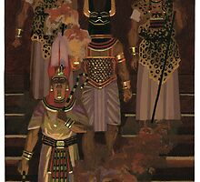 Egyptian funeral by David  Kennett
