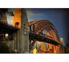 Golden Gateway - Sydney, Australia Photographic Print