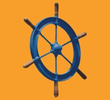 blue sailor wheel by Alejandro Durán Fuentes