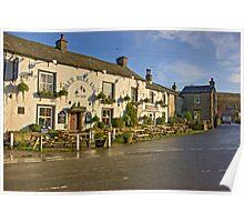 Blue Bell Inn -Kettlewell Poster