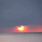 North Sea Sunset by queenbeecc