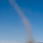 Dust Devil - Salt Flats of Bolivia by lgraham