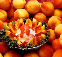 Peachy Salad by Jay Gross