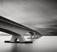Bridge Study II by Joel Tjintjelaar