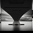 Zeeland Bridge studies Triptych by Joel Tjintjelaar