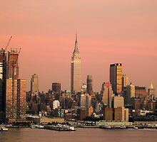 New York Skyline Dusk 08 by andykazie