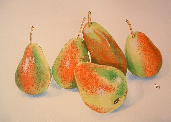 Forelle Pears by Pete Janes