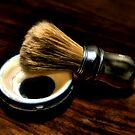 Shaving Soap and Brush by Jimmy Ostgard