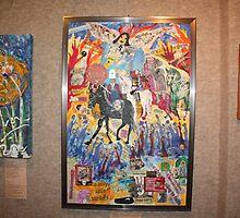 the collage ,Four horsemen,apocalypsis by eoconnor