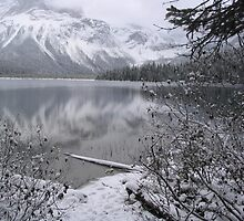 Emerald Lake in Winter  by whisperjo