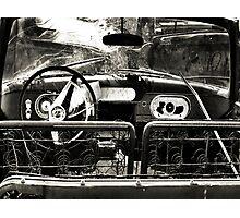 Back Seat Driver ~2  ( BoneYard Series ) Photographic Print