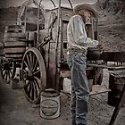Randy - Chuckwagon Cook by Kenton Elliott
