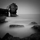 Pulpit Rock, Portland Bill, Dorset by Dave Sayer