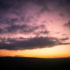 Sunset over Dartmoor by Dave Sayer
