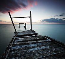 Elwood Pier by Andrew Widdowson